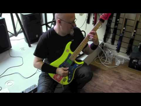 Vigier 2012 UK Clinics; Christophe Godin (Mann's Music), Beatles 'Yesterday' arrangement