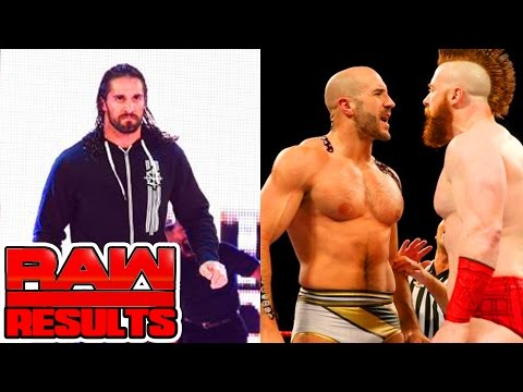 ROLLINS INJURED? CESARO SHEAMUS TAG TEAM? WWE Raw Results 9/26/16 (Going In Raw Podcast Ep. 104)