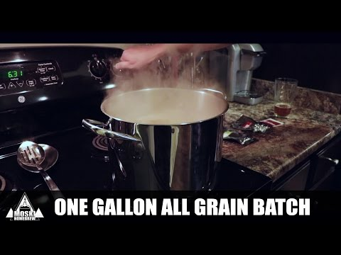 How To Brew - One Gallon All Grain Brewday