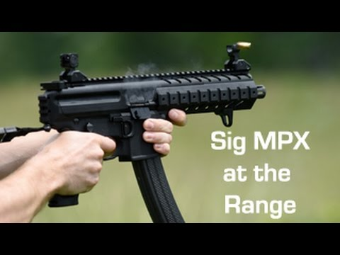 Sig MPX Pistol on our Range