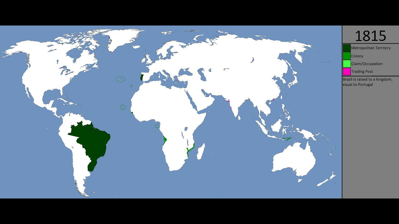 Countries that had at least a territory under Portuguese ... |Portuguese Territory