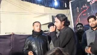 Asghar Khan Reciting Noha Sakina (s.a) Pani (Karachi 2011)