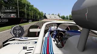 ACFL F1 2018 Q3 Simulated at Circuit Gilles Villeneuve | Assetto Corsa-New Bonnet View | 1:11.017