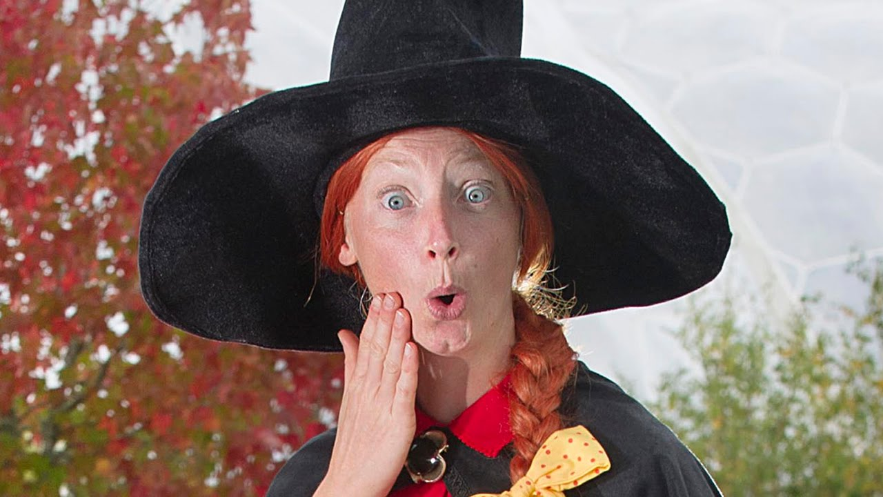 Room On The Broom Witch Does Magic At The Eden Project