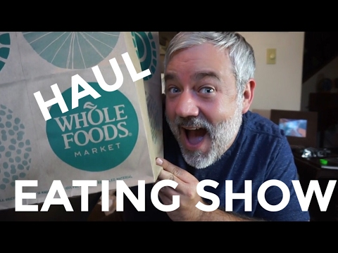 WHOLE FOODS HAUL MUKBANG EATING SHOW!