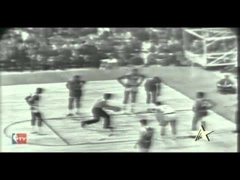 1964 NBA Finals Gm. 4 Celtics vs. Warriors (2/3)