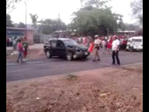 Choque En La Huacana Michoacan ( Ichamio)