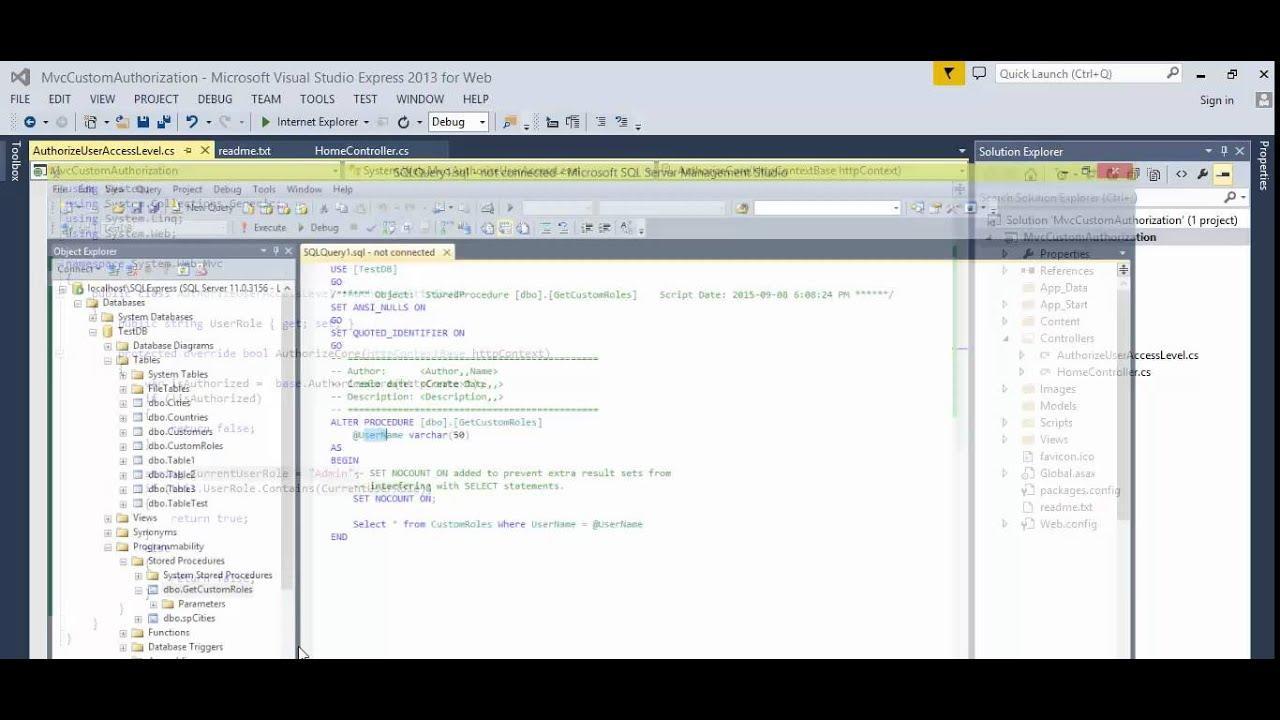 MVC - How to add custom authorization