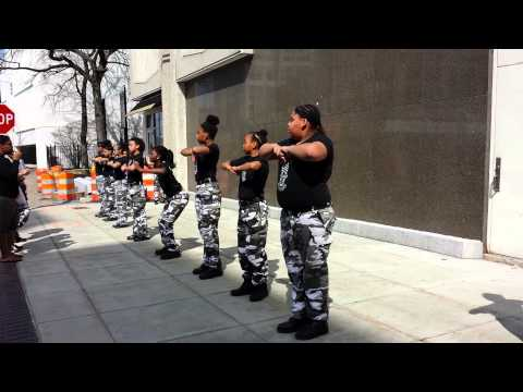 "Girls Stomp Dance Group - Worcester's ""Seven Hills Soldiers"""