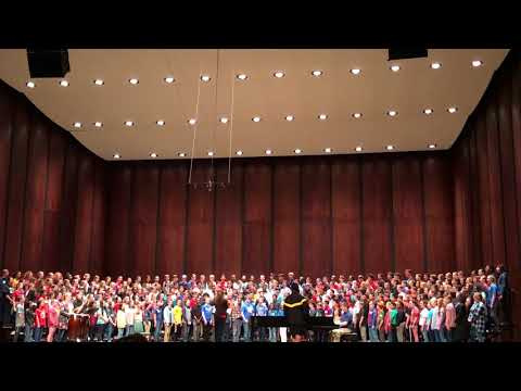 Middle Mixed All-State Chorus Dress Rehearsal- Keep Your Lamps Trimmed and Burning