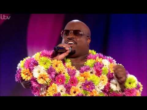"""CeeLo Performs """"Music To My Soul"""" Live on The X Factor UK"""