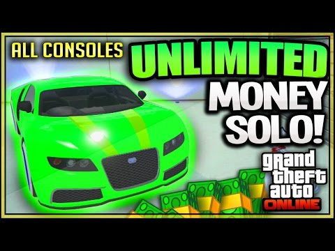 GTA 5 | NEW SOLO UNLIMITED MONEY GLITCH ★ DUPLICATE CARS After Patch 1.30