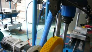 WanXingDa CNC 3 Axis Machine Making Roller Brushes with 0 5mm Steel Wires