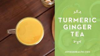 Easy Turmeric Ginger Tea