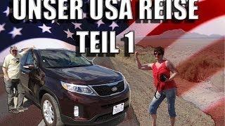 USA REISE - TEIL 1 - In dieser Episode VENICE BEACH, FARMERS MARKET, LAS VEGAS