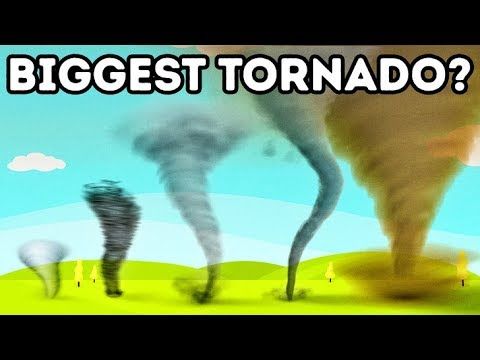 What Tornado Is The Biggest? It`s Bigger Than 4 000 M In Diameter!