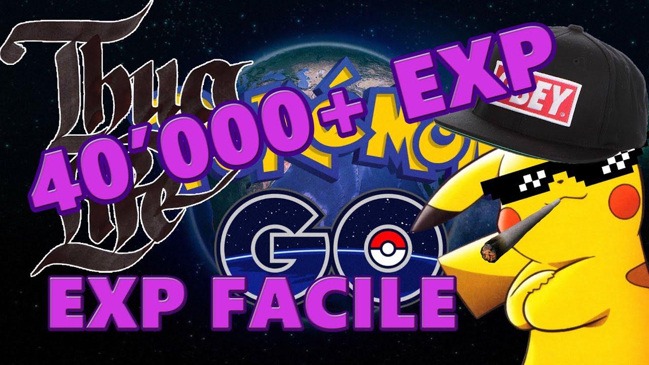 how to get exp pokemon go