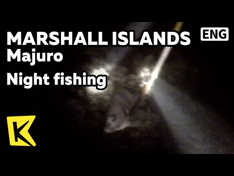【K】Marshall Islands Travel-Majuro[마셜 여행-마주로]밤바다, 수중 작살 낚시/Night fishing/Sea/Harpoon