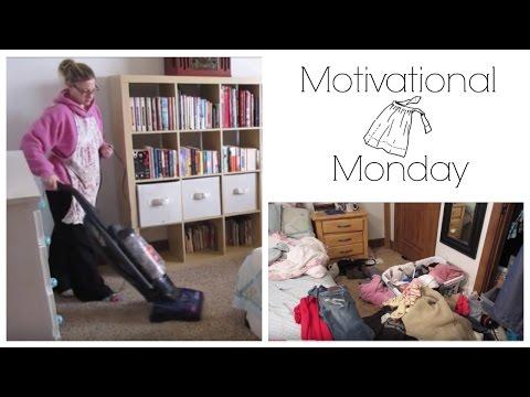 Master Bedroom Cleanup!  Motivational Monday