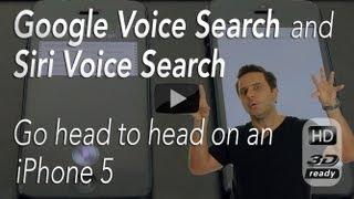 Siri vs Google Now on an iPhone 5