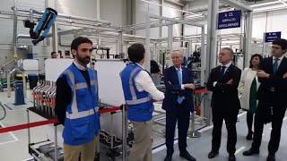El lehendakari preside la inauguración  de la nueva planta de ITP en Derio