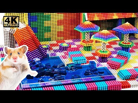 DIY - Build Jello Pool For Pet From Magnetic Balls (Satisfying) | Magnet World Series