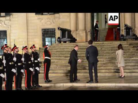 Malta's PM welcomes new Canadian counterpart