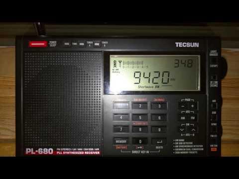 Helliniki Radiophonia - Voice of Greece - 9420 KHZ - 03:48 UTC