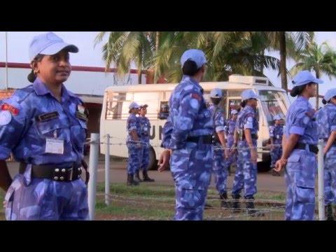 Unique security unit set to depart from UN Mission in Liberia