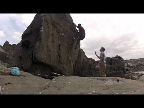 The Knife, Guernsey Bouldering