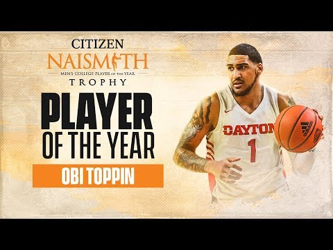 Daytons Obi Toppin named 2019-20 Naismith Mens Player of the Year  CBS Sports HQ