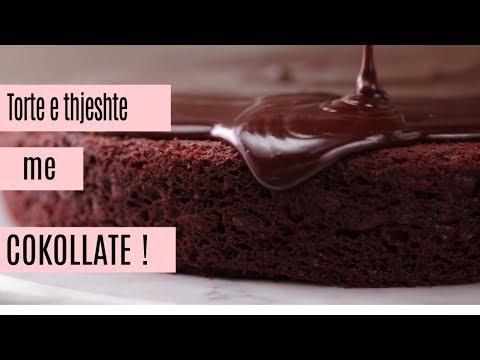 Torte e thjeshte me cokollate (SHQIP)