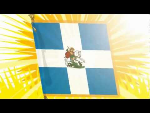 For the Glory of Hellas - Sabaton - Coat of Arms (Animated)