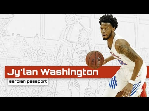 Jy'lan Washington (PF-SF 206cm) - Highlights (2019-20)