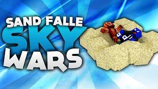 Die Sand FALLE! - Minecraft Sky Wars! | DieBuddiesZocken