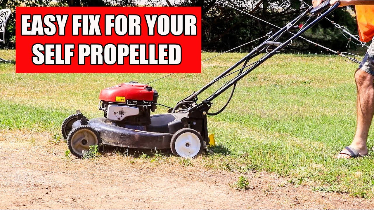 Very Common Fix for Your Self Propelled Push Mower