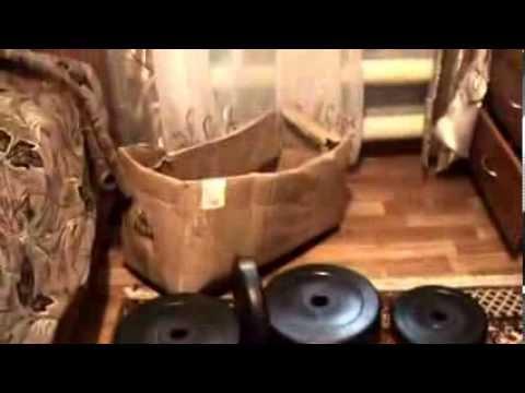 Обзор набора штанги и гантелей китайского производства - YouTube