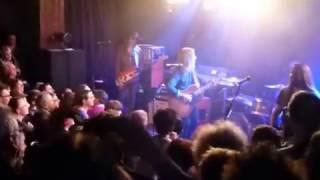 """BLACKBERRY SMOKE """" AIN'T GOT THE BLUES """" Concert à la MAROQUINERIE à PARIS 25 03 2017"""