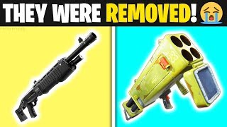 7 Things *REMOVED* In FORTNITE SEASON 8!