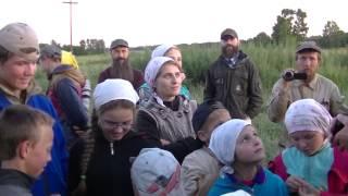 Учитель Голендухин Владимир среди детей