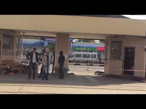 Новости Тулы: напротив ГКЗ сносят торговые палатки
