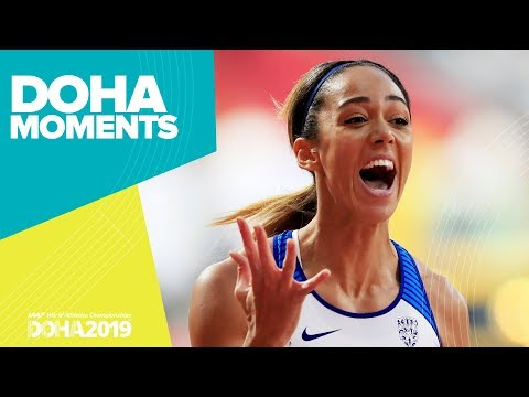Johnson-Thompson wins Heptathlon Gold   World Athletics Championships 2019   Doha Moments