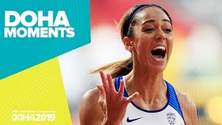 Johnson-Thompson wins Heptathlon Gold | World Athletics Championships 2019 | Doha Moments