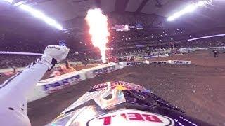 GoPro: James Stewart's 48th Win – 2014 Monster Energy Supercross Detroit