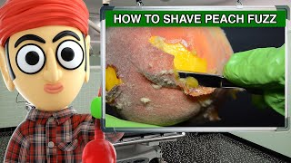 How to Shave Peach Fuzz with a Straight Edge Blade   Runforthecube Tutorial