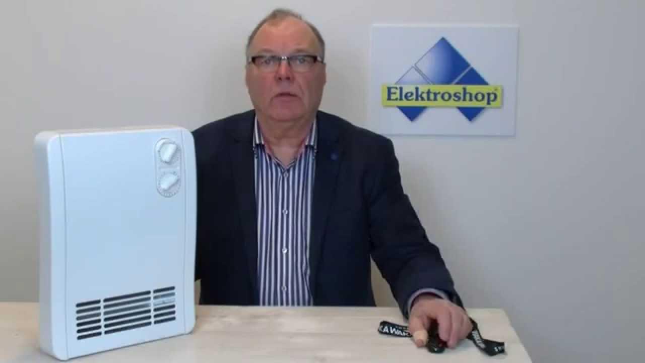 Dimplex badkamerkachel elektrisch 2000W - YouTube