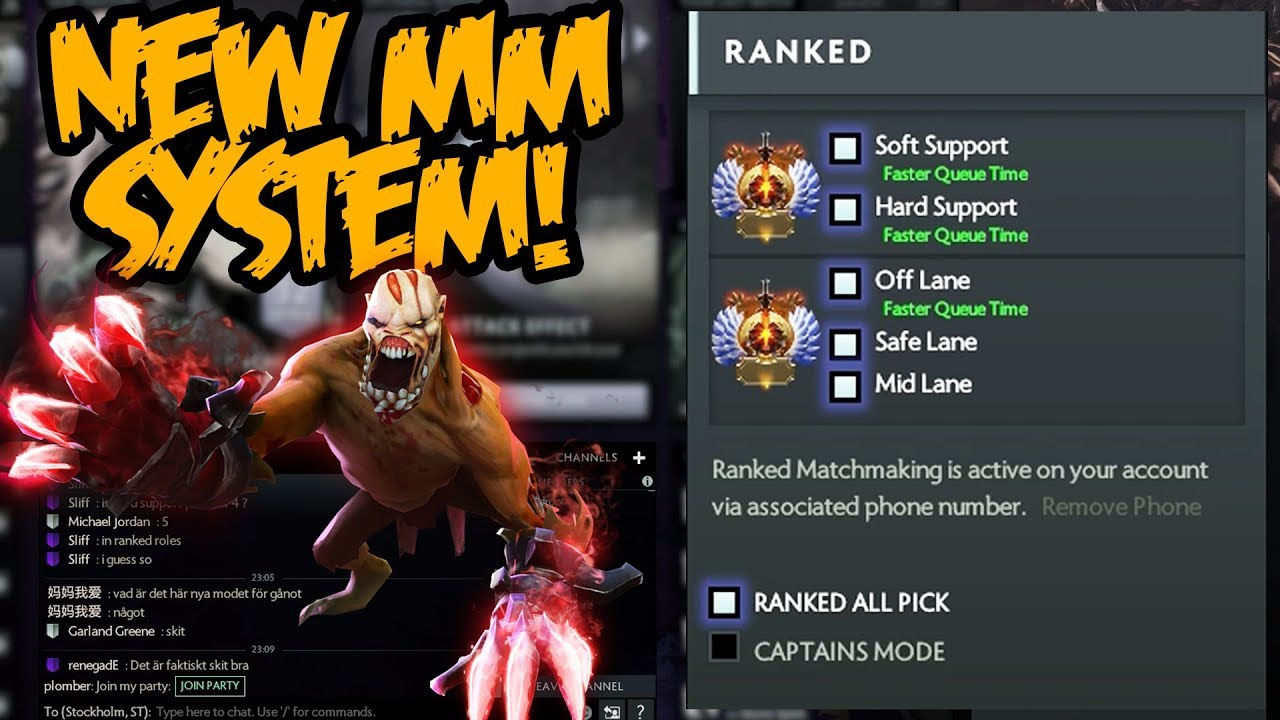 Hoe te resetten matchmaking rating DotA 2