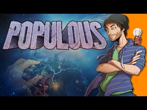 Populous and God Games - Spacehamster