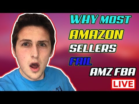 5 Reasons Why Amazon Sellers Faíl
