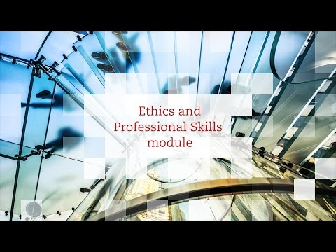 ACCA | Ethics and Professional Skills Module